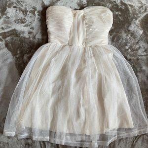 Charlotte Russe strapless dress, XS